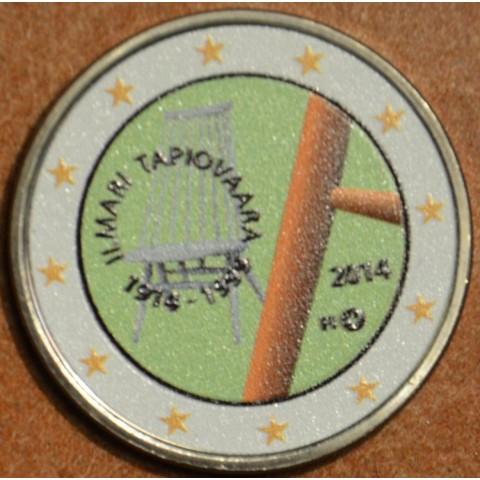 2 Euro Finland 2014 - 100th Anniversary of Ilmari Tapiovaara V. (colored UNC)