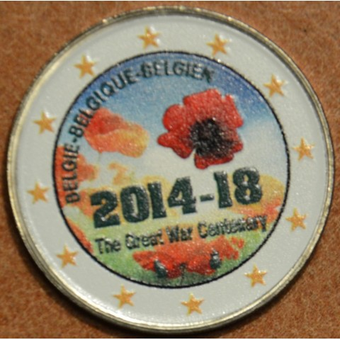 2 Euro Belgium 2014 - The Great War Centenary V. (colored UNC)