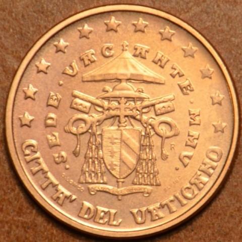 1 cent Vatican Sede Vacante 2005 (BU)