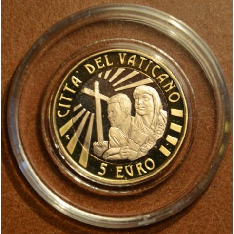 5 Euro Vatican 2019 Giornata Mondiale Gioventù Panama (Proof)