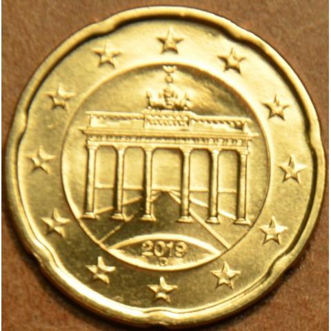"""20 cent Germany """"D"""" 2019 (UNC)"""