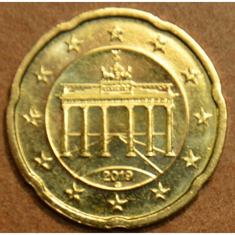 """20 cent Germany """"G"""" 2019 (UNC)"""