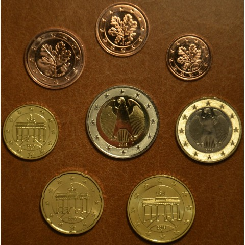 """Set of 8 coins Germany 2019 """"F"""" (UNC)"""