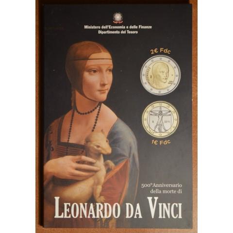 2 Euro Italy 2019 - Leonardo da Vinci (BU)