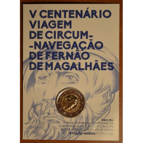 2 Euro Portugal 2019 - Ferdinand Magellan (BU card)