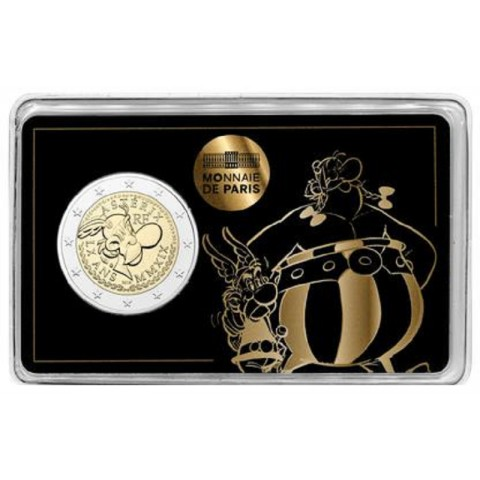 2 Euro France 2019 - Asterix: Asterix and Obelix (BU)