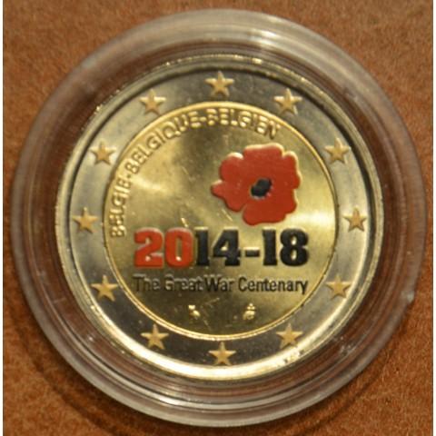 2 Euro Belgium 2014 - The Great War Centenary IV. (colored UNC)