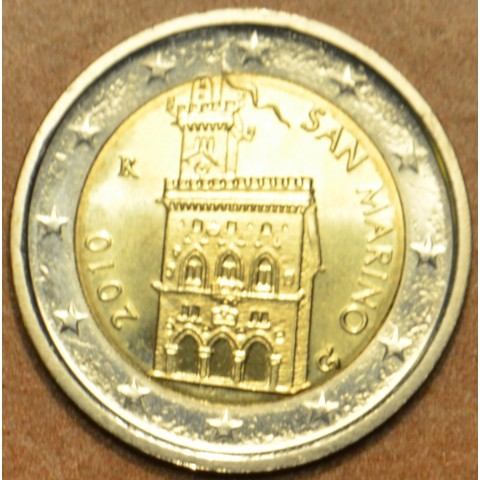 2 Euro San Marino 2010 - Government House (UNC)