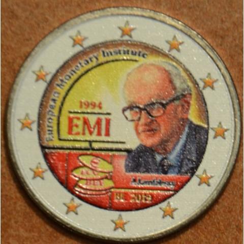 2 Euro Belgium 2019 -  25 years of European Monetary Institute II. (colored UNC)