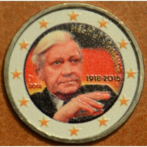 2 Euro Germany 2018 - Helmut Schmidt V. (colored UNC)