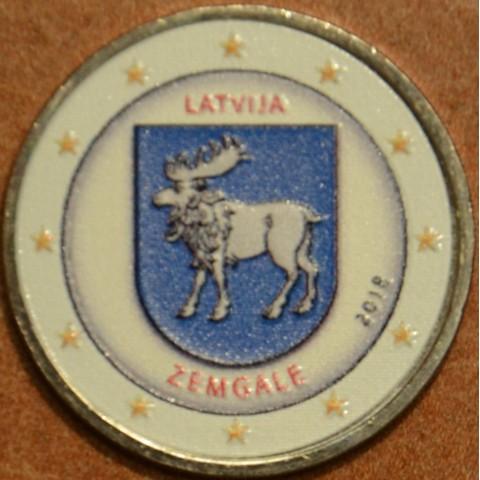 2 Euro Latvia 2018 - Zemgale III. (colored UNC)
