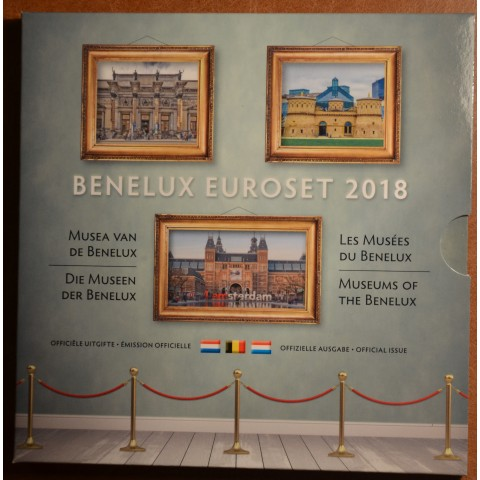 Official set of coins BeNeLux 2018  (BU)