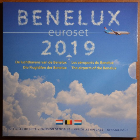 Official set of coins BeNeLux 2019  (BU)