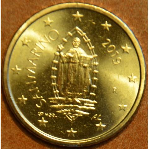 50 cent San Marino 2019 - New design (UNC)