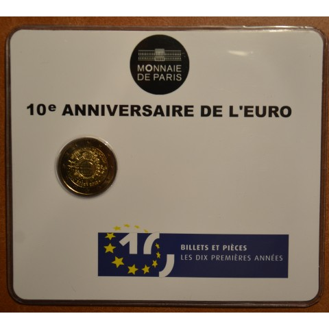2 Euro France 2012 - Ten years of Euro  (BU card)
