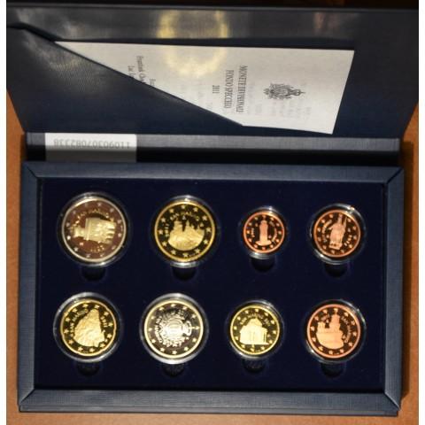 Set of 8 Euro coins San Marino 2011 (Proof)