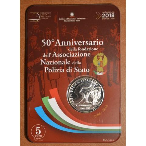 5 Euro Italy 2018 - National police (BU)
