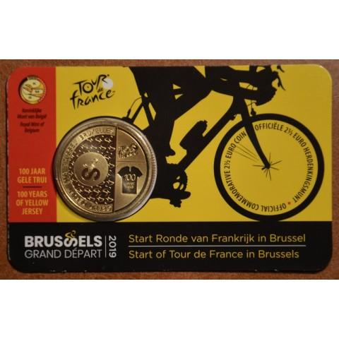 2,5 Euro Belgium 2019 Tour de France v2 (BU)