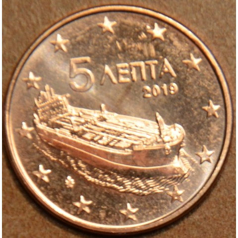 5 cent Greece 2019 (UNC)