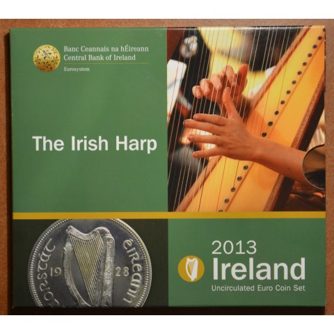 Official set of 8 coins of the Ireland 2013  (BU)