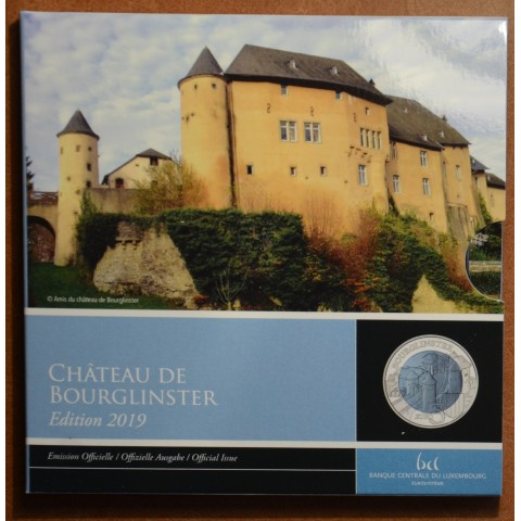 5 Euro Luxembourg 2019 - Bourglinster (Proof)