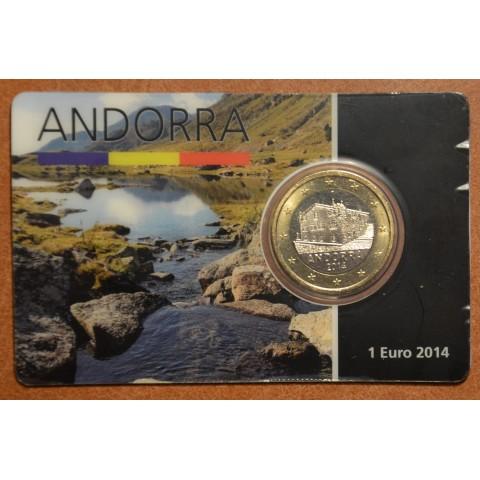 1 Euro Andorra 2014 (UNC)
