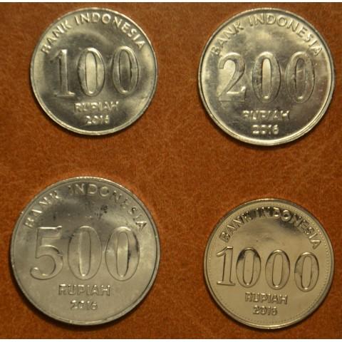 Indonesia 4 coins 2016 (UNC)