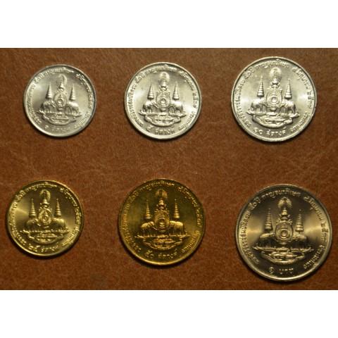 Thailand 6 mincí coins (UNC)