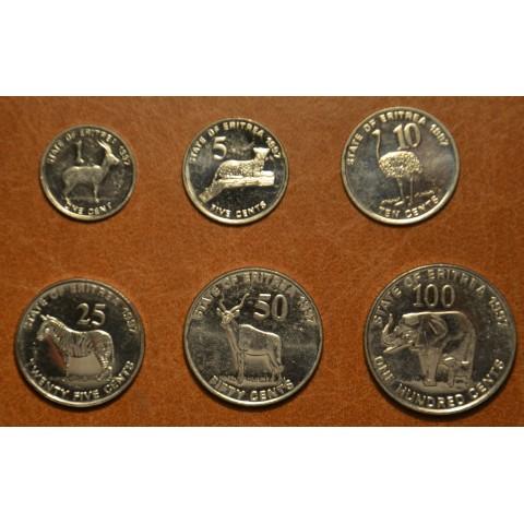 Eritrea 6 coins 1997 (UNC)