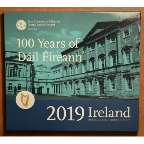 Set of 9 coins Ireland 2019  (BU)