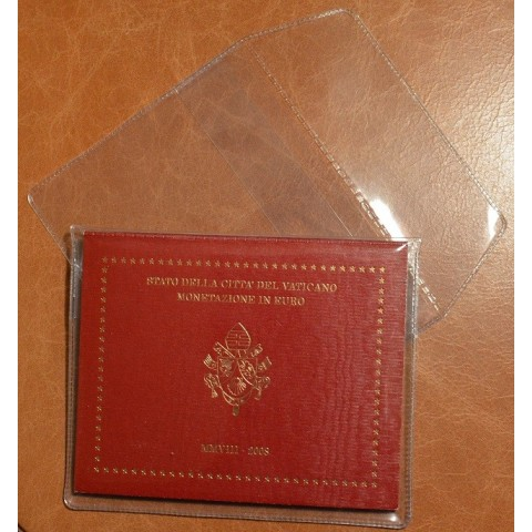 Plastic holder for Euro sets of Vatican
