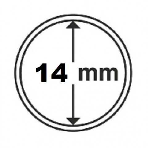 Leuchtturm capsula 14 mm