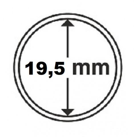 Leuchtturm capsula for 19,5 mm coin