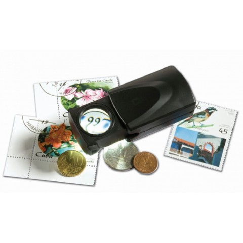 Leuchtturm magnifier 20x with LED