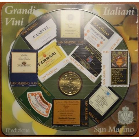 50 cent San Marino 2007 + 10 stamps (UNC)