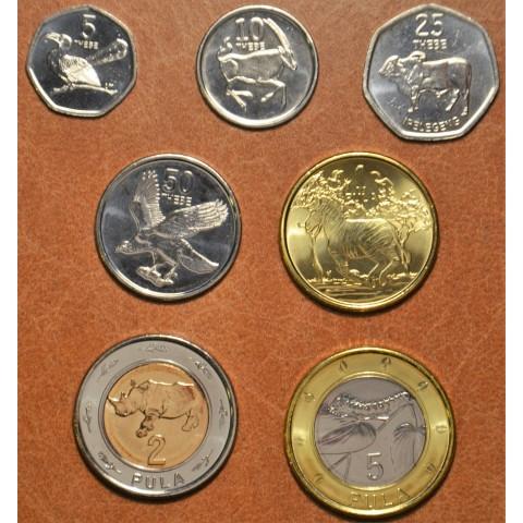 Botswana 7 coins 2013 (UNC)