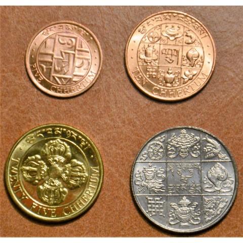 Bhutan 4 coins 1979 (UNC)