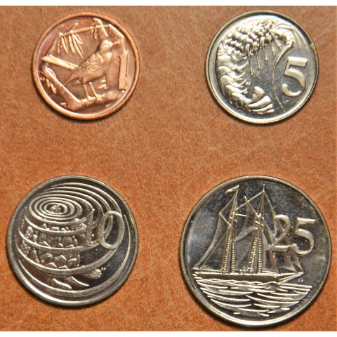 Cayman islands 4 coins 2008 (UNC)
