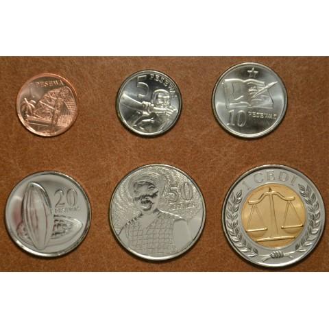 Ghana 6 coins 2007 (UNC)