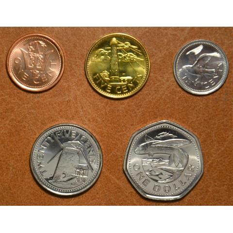 Barbados 5 coins 2008-2009 (UNC)