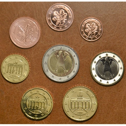 """Set of 8 coins Germany 2019 """"G"""" (UNC)"""