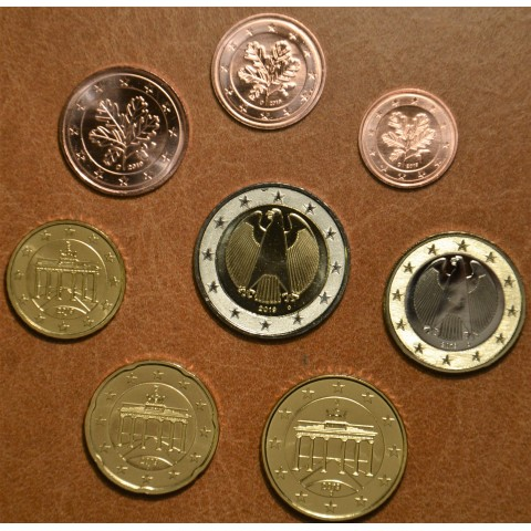 """Set of 8 coins Germany 2019 """"D"""" (UNC)"""