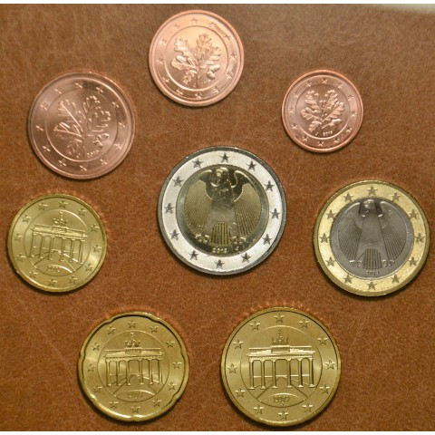 """Set of 8 coins Germany 2019 """"J"""" (UNC)"""