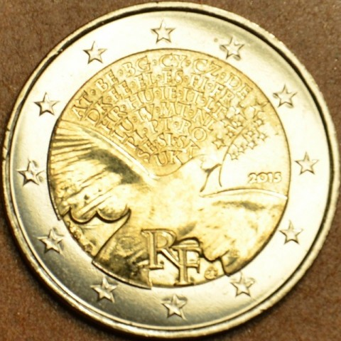 2 Euro France 2015 - Peace in Europe (UNC)