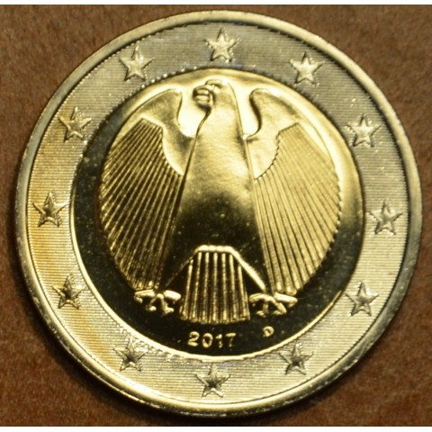 "2 Euro Germany ""D"" 2017 (UNC)"
