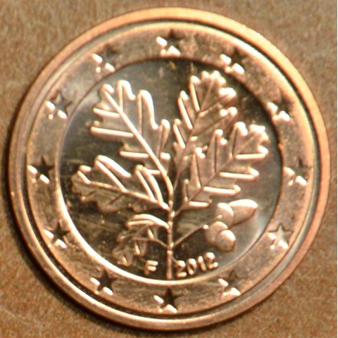 "1 cent Germany ""F"" 2012 (UNC)"