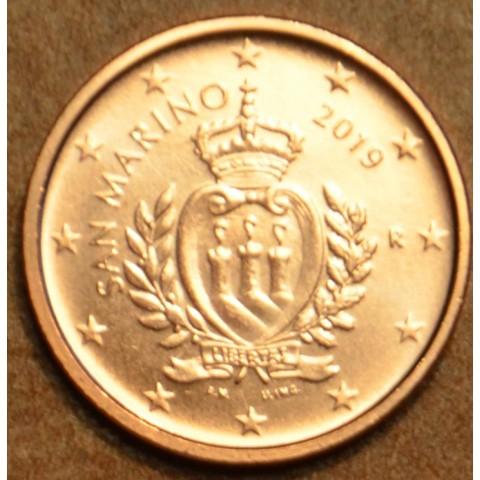 1 cent San Marino 2019 - New design (UNC)