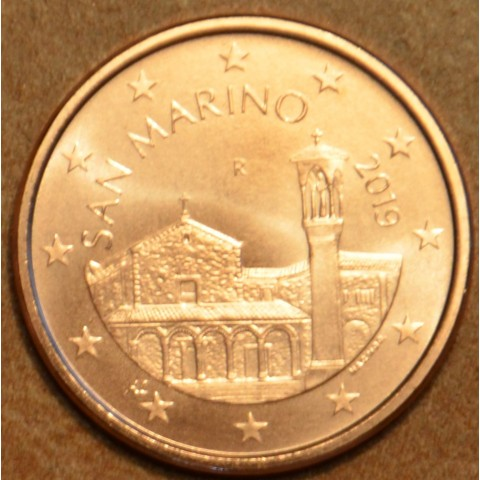 5 cent San Marino 2019 - New design (UNC)
