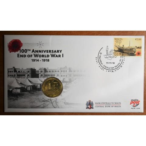 5 Euro Malta 2014 - First world war (UNC)