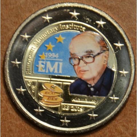 2 Euro Belgium 2019 -  25 years of European Monetary Institute III. (colored UNC)